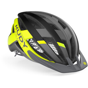 Rudy Project Venger MTB Helm titanium/yellow fluo matte